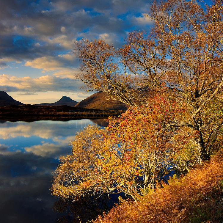 Stac Pollaidh from Loch Cul Drommanan1