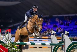 Thomas Gilles, BEL, Luna van het Dennehof<br /> Jumping Mechelen 2019<br /> © Hippo Foto - Dirk Caremans<br />  26/12/2019
