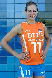 02-06-2010 VOLLEYBAL: NEDERLANDS VROUWEN VOLLEYBAL TEAM: ALMERE<br /> Reportage Nederlands volleybalteam vrouwen / Caroline Wensink<br /> ©2010-WWW.FOTOHOOGENDOORN.NL