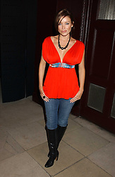 DANNI MINOGUE at a launch party for Kraken Opus's new luxury sports books held at Sketch, 9 Conduit Street, London W1 on 22nd February 2006.<br /><br />NON EXCLUSIVE - WORLD RIGHTS