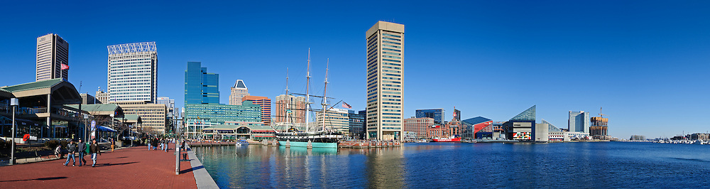 Inner Harbor in Baltimore, Maryland