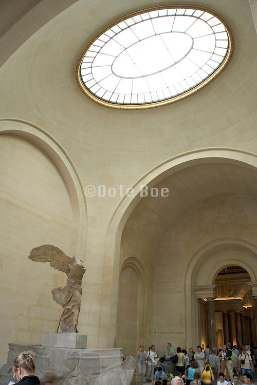 The Winged Victory of Samothrace - marble 190 BC. Musee du Louvre