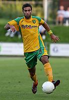 Photo: Maarten Straetemans.<br /> FC Zwolle v Norwich City. Pre Season Friendly. 25/07/2007.<br /> Simon Lappin (Norwich City)
