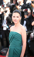 Virginie Ledoyen at the gala screening of the film Moonrise Kingdom at the 65th Cannes Film Festival. Wednesday 16th May 2012, the red carpet at Palais Des Festivals in Cannes, France.