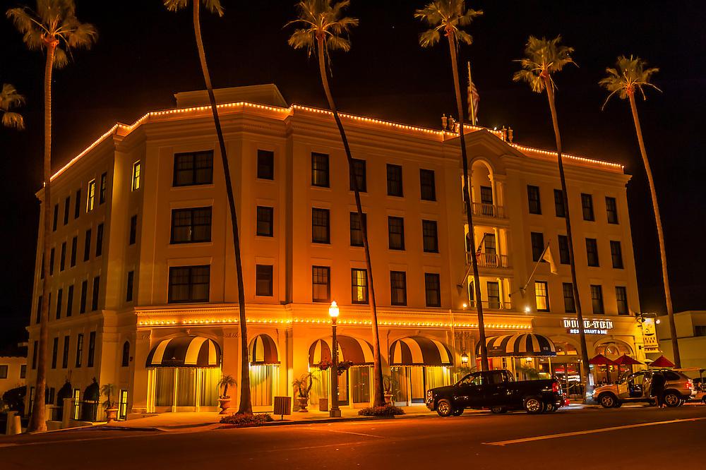 The Grande Colonial Hotel, La Jolla (San Diego), California USA.