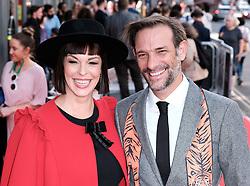 Edinburgh International Film Festival 2019<br /> <br /> Mrs Lowry And Son (World Premiere, closing night gala)<br /> <br /> Pictured: Pollyanna MacIntosh and Casey Van Maanen<br /> <br /> Alex Todd | Edinburgh Elite media