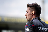 LONDON, ENGLAND - APRIL 14: Wayne Hennessey (13) of Crystal Palace during the Premier League match between Crystal Palace and Brighton and Hove Albion at Selhurst Park on April 14, 2018 in London, England. (Photo by MB Media/Getty Images)