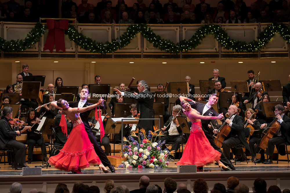 12/30/17 3:05:51 PM -- Chicago, IL, USA<br /> Attila Glatz Concert Productions' &quot;A Salute to Vienna&quot; at Orchestra Hall in Symphony Center. Featuring the Chicago Philharmonic <br /> <br /> &copy; Todd Rosenberg Photography 2017