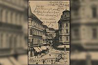 Zagreb (Croatie) : Duga ulica. <br /> <br /> ImpresumZagreb : [Svjetlotiskarski zavod R. Mosinger], [1905].<br /> Materijalni opis1 razglednica : tisak ; 13,6 x 8,7 cm.<br /> SuradnikMosinger, Rudolf(1865.–1918.)<br /> NakladnikSvjetlotiskarski zavod R. Mosinger<br /> Mjesto izdavanjaZagreb<br /> Vrstavizualna građa • razglednice<br /> ZbirkaGrafička zbirka NSK • Zbirka razglednica<br /> Formatimage/jpeg<br /> PredmetZagreb –– Ulica Pavla Radića<br /> SignaturaRZG-RADI-1<br /> Obuhvat(vremenski)20. stoljeće<br /> NapomenaRazglednica je putovala 1905. godine. • Poleđina razglednice namijenjena je samo za adresu. • Razglednica je tiskana po fotografiji R. Mosingera.<br /> PravaJavno dobro<br /> Identifikatori000954641<br /> NBN.HRNBN: urn:nbn:hr:238:611831 <br /> <br /> Izvor: Digitalne zbirke Nacionalne i sveučilišne knjižnice u Zagrebu