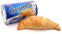 Pillsbury Grands crescent rolls on white background
