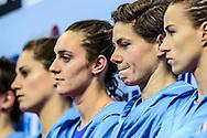 22-01-2016: waterpolo: Nederland v Hongarije: Belgrado<br /> <br /> GENEE Amarens of team Netherlands<br /> <br /> Women final waterpolomatch between team The Netherlands vs Hungary during the 32nd LEN European Championships in Belgrade<br /> <br /> Foto: Gertjan Kooij