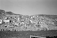 Overall total destruction of Agadir<br /> earthquake in Morocco in 1960.<br /> <br /> Destruction totale globale d'Agadir apres <br /> tremblement de terre au Maroc en 1960 .