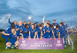 Chelsea Ladies celebrate winning the Womens Super League - Mandatory by-line: Paul Knight/JMP - 15/05/2018 - FOOTBALL - Stoke Gifford Stadium - Bristol, England - Bristol City Women v Chelsea Ladies - FA Women's Super League 1