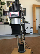 Omega D2 Enlarger, front view.