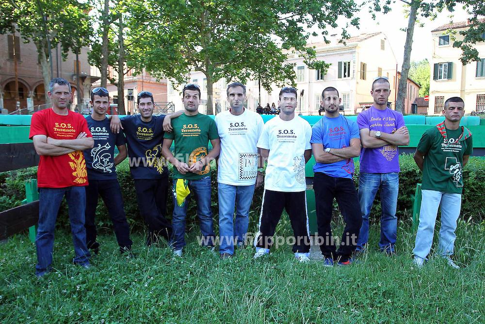 PALIO 2012: PROVE CORSA CAVALLI IN PIAZZA ARIOSTEA