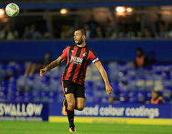 Steve Cook of Bournemouth - Mandatory by-line: Paul Roberts/JMP - 22/08/2017 - FOOTBALL - St Andrew's Stadium - Birmingham, England - Birmingham City v Bournemouth - Carabao Cup