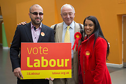 © Licensed to London News Pictures. 29/04/2016. Bradford, UK. FILE PICTURE. Ken Livingstone canvassing support with Naz Shah in Bradford before the 2015 General Election. Photo credit : Paul Thompson/LNP