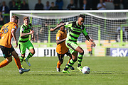 Forest Green Rovers Keanu Marsh-Brown(7) runs forward during the EFL Sky Bet League 2 match between Forest Green Rovers and Barnet at the New Lawn, Forest Green, United Kingdom on 5 August 2017. Photo by Shane Healey.