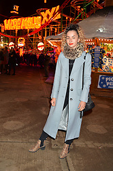 ELLA EYRE at the Hyde Park Winter Wonderland - VIP Preview Night, Hyde Park, London on 17th November 2016.