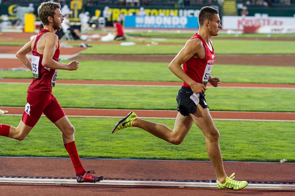 mens 5000 meters, István Szögi, Hungary