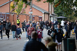Aston Villa fans arrive for the derby between Aston Villa and Wolves - Mandatory by-line: Dougie Allward/JMP - 15/10/2016 - FOOTBALL - Villa Park - Birmingham, England - Aston Villa v Wolverhampton Wanderers - Sky Bet Championship