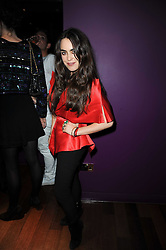 TALLULAH ORMSBY GORE at the Tatler Little Black Book Party held at Chinawhite, 4 Winsley Street, London on 20th November 2009.