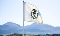 NEWCASTLE NORTHERN IRELAND-  Hole vlag     , ROYAL COUNTY DOWN GC, nr. 3 van de wereldranglijst. .  COPYRIGHT KOEN SUYK