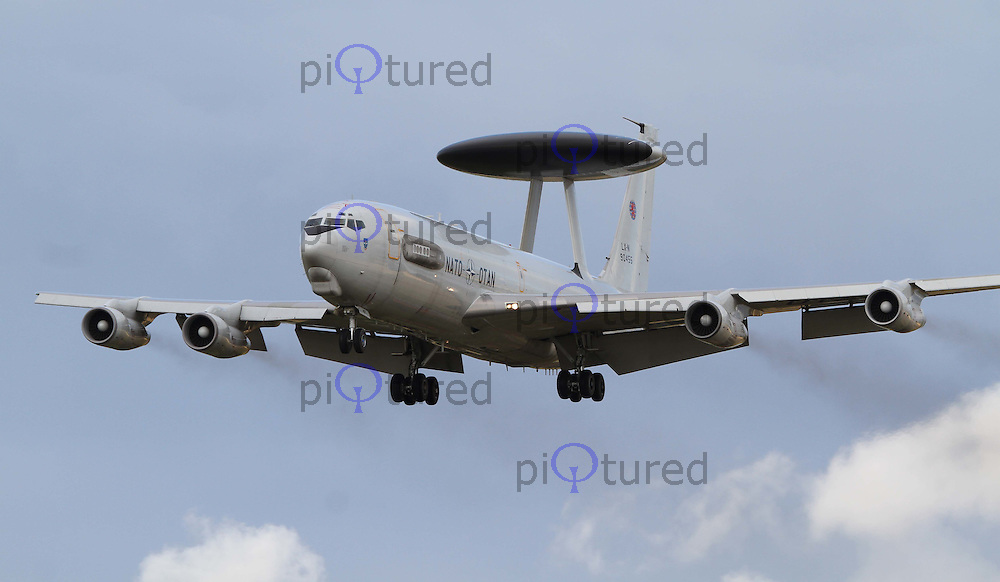 NATO E-3A Sentry Royal International Air Tattoo 2010 RAF Fairford, UK, 16 July 2010: For piQtured Sales contact: Ian@Piqtured.com +44(0)791 626 2580 (Picture by Richard Goldschmidt/Piqtured)