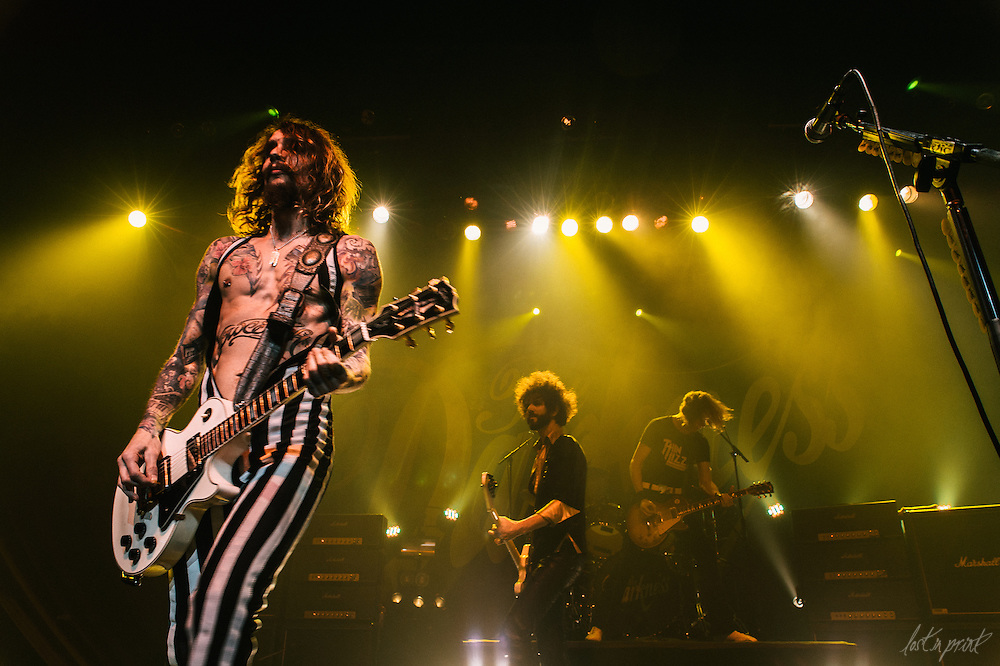 The Darkness performs at The Vic Theatre in Chicago, IL on January 27, 2013