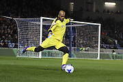 Reading goalkeeper Ali Al Habsi (26) in action during the Sky Bet Championship match between Brighton and Hove Albion and Reading at the American Express Community Stadium, Brighton and Hove, England on 15 March 2016. Photo by Geoff Penn.