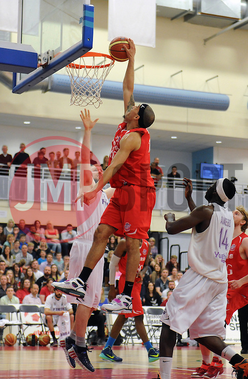 Bristol Flyers' Greg Streete - Photo mandatory by-line: Robbie Stephenson/JMP - Mobile: 07966 386802 - 18/04/2015 - SPORT - Basketball - Bristol - SGS Wise Campus - Bristol Flyers v Leeds Force - British Basketball League