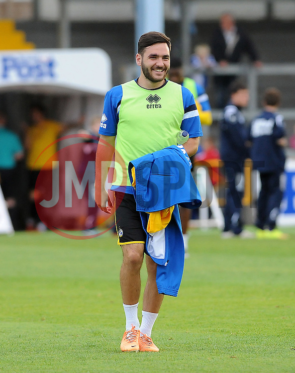 Jake Gosling of Bristol Rovers - Mandatory by-line: Neil Brookman/JMP - 21/07/2015 - SPORT - FOOTBALL - Bristol,England - Memorial Stadium - Bristol Rovers v Reading - Pre-Season Friendly