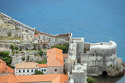21.06.2015, Dubrovnik, CRO, Dubrovnik ist eine Stadt im südlichen Kroatien an der Adria, im Bild Panoramic view of Dubrovnik from Srdj Mountain. Bokar fortress // is a city in southern Croatia on the Adriatic Sea, pictured on 17. June in Dubrovnik, Croatia on 2015/06/21. EXPA Pictures © 2015, PhotoCredit: EXPA/ Pixsell/ Grgo Jelavic<br /> <br /> *****ATTENTION - for AUT, SLO, SUI, SWE, ITA, FRA only*****