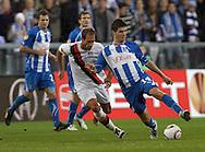 UEFA Europa League.Manchester City v Lech Poznan.4th November 2010.Semir Stilic /LECH/ and .Photo by: Piotr Hawalej /WROFOTO