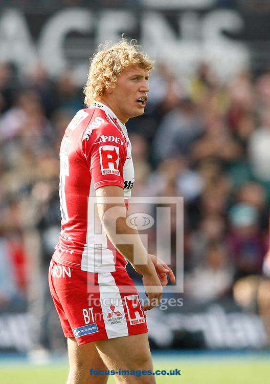Billy Twelvetrees of Gloucester looks on during the Aviva Premiership match at Allianz Park, London<br /> Picture by Andrew Tobin/Focus Images Ltd +44 7710 761829<br /> 11/10/2014