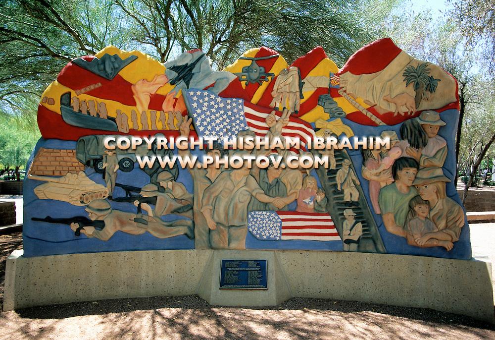 Desert Storm Memorial, Phoenix, Arizona, USA.