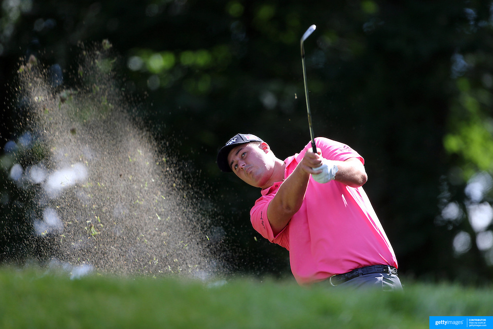 Michael Putnam, USA, in action during the third round of the Travelers Championship at the TPC River Highlands, Cromwell, Connecticut, USA. 21st June 2014. Photo Tim Clayton