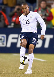 United States midfielder Ricardo Clark (13).  The United States men's soccer team defeated the Mexican national team 2-0 in CONCACAF final group qualifying for the 2010 World Cup at Columbus Crew Stadium in Columbus, Ohio on February 11, 2009.