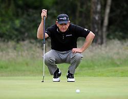 Zimbabwe's Nick Price during Round Three of the Senior Open Championship at Walton Heath Golf Club, Surrey.