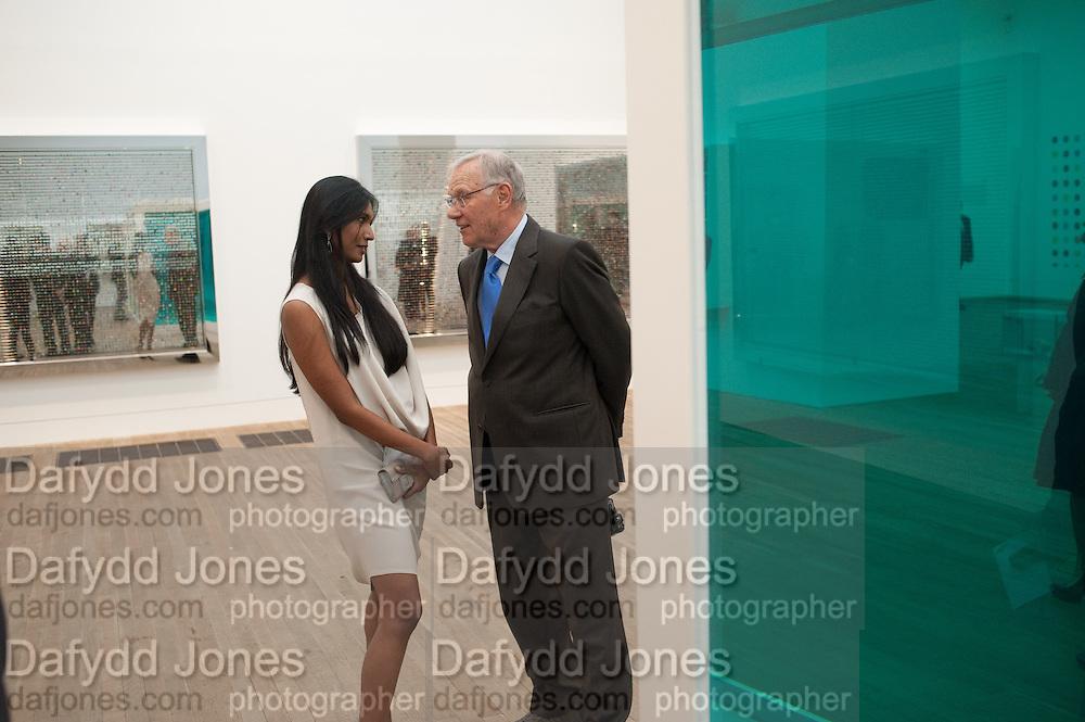 SUKANYA RAJARATNAM; JOSEF FROELICH, Damien Hirst, Tate Modern: dinner. 2 April 2012.