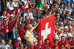 Opening ceremony, Team Switzerland<br /> World Equestrian Games - Tryon 2018<br /> © Hippo Foto - Sharon Vandeput<br /> 11/09/2018
