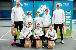 Best U12 Slovenian tennis players, on January 19, 2019 in TK Triglav, Kranj, Slovenia. Photo by Vid Ponikvar / Sportida
