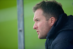 MADRID, SPAIN - Tuesday, November 4, 2014: Liverpool's youth team head coach Neil Critchley during the UEFA Youth League Group B match against Real Madrid at Ciudad Real Madrid. (Pic by David Rawcliffe/Propaganda)