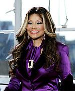 "LaToya Jackson attends the ""All-Star Celebrity Apprentice"" press conference at Jack Studios in New York City, New York on October 12, 2012."