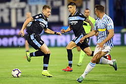 "Foto LaPresse/Filippo Rubin<br /> 03/04/2019 Ferrara (Italia)<br /> Sport Calcio<br /> Spal - Lazio - Campionato di calcio Serie A 2018/2019 - Stadio ""Paolo Mazza""<br /> Nella foto: CIRO IMMOBILE (LAZIO)<br /> <br /> Photo LaPresse/Filippo Rubin<br /> April 03, 2019 Ferrara (Italy)<br /> Sport Soccer<br /> Spal vs Lazio - Italian Football Championship League A 2018/2019 - ""Paolo Mazza"" Stadium <br /> In the pic: CIRO IMMOBILE (LAZIO)"