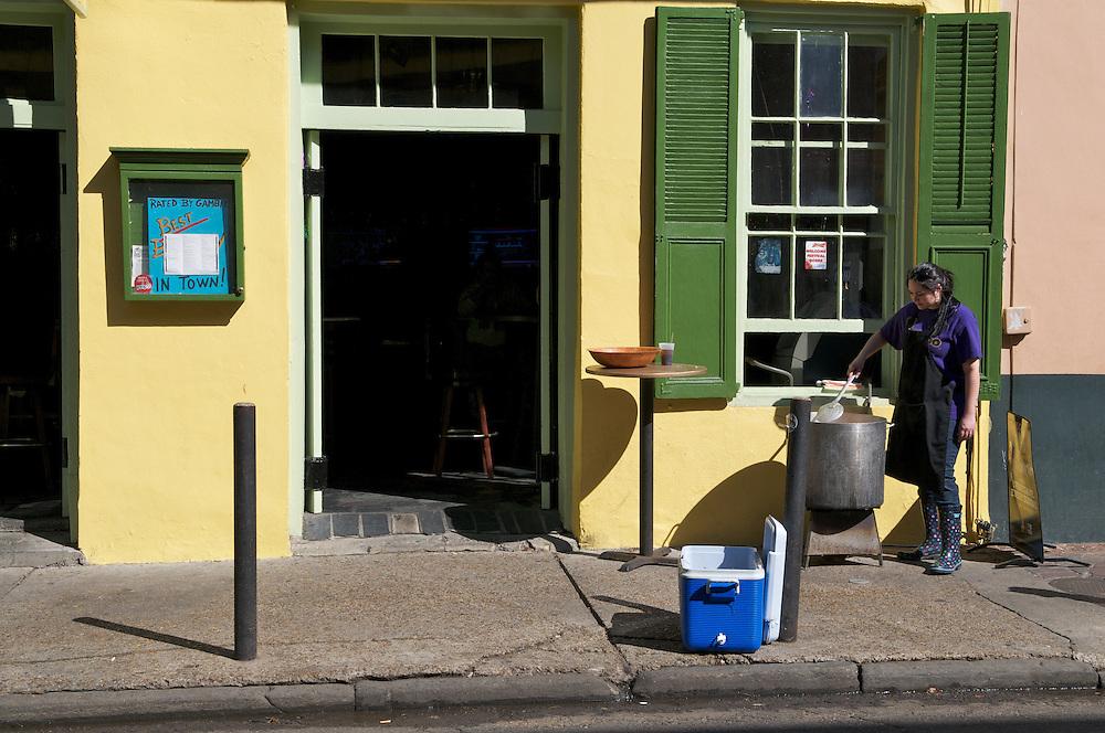 New Orleans, Louisiana winter of 2012