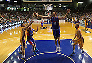 30/11/2014 NBL Adelaide 36ers vs Sydney Kings at the Adelaide Arena. Photo by Kelly Barnes/AllStar Photos