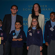 London, UK. 31th October, 2016. Unilever - school award to St Saviour's Church of England Primary recieves award of Team London Awards at City Hall, London,UK. Photo by See Li