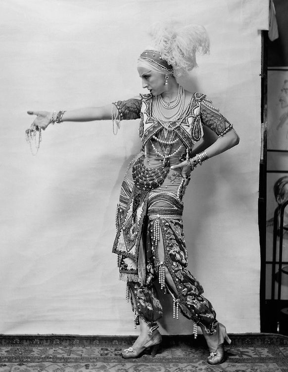 Lubov Tchernicheva as Zobeida in 'Schéhérazade', London, England, 1920