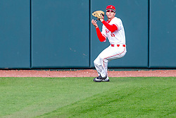 NORMAL, IL - May 01: Gunner Peterson during a college baseball game between the ISU Redbirds and the Indiana State Sycamores on May 01 2019 at Duffy Bass Field in Normal, IL. (Photo by Alan Look)